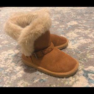 Toddler Girls Faux Fur Boots